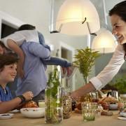 Philips Hue smarte Glühbirnen in der Küche