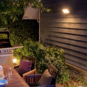 Philips Hue Welcome Flutlicht im Garten
