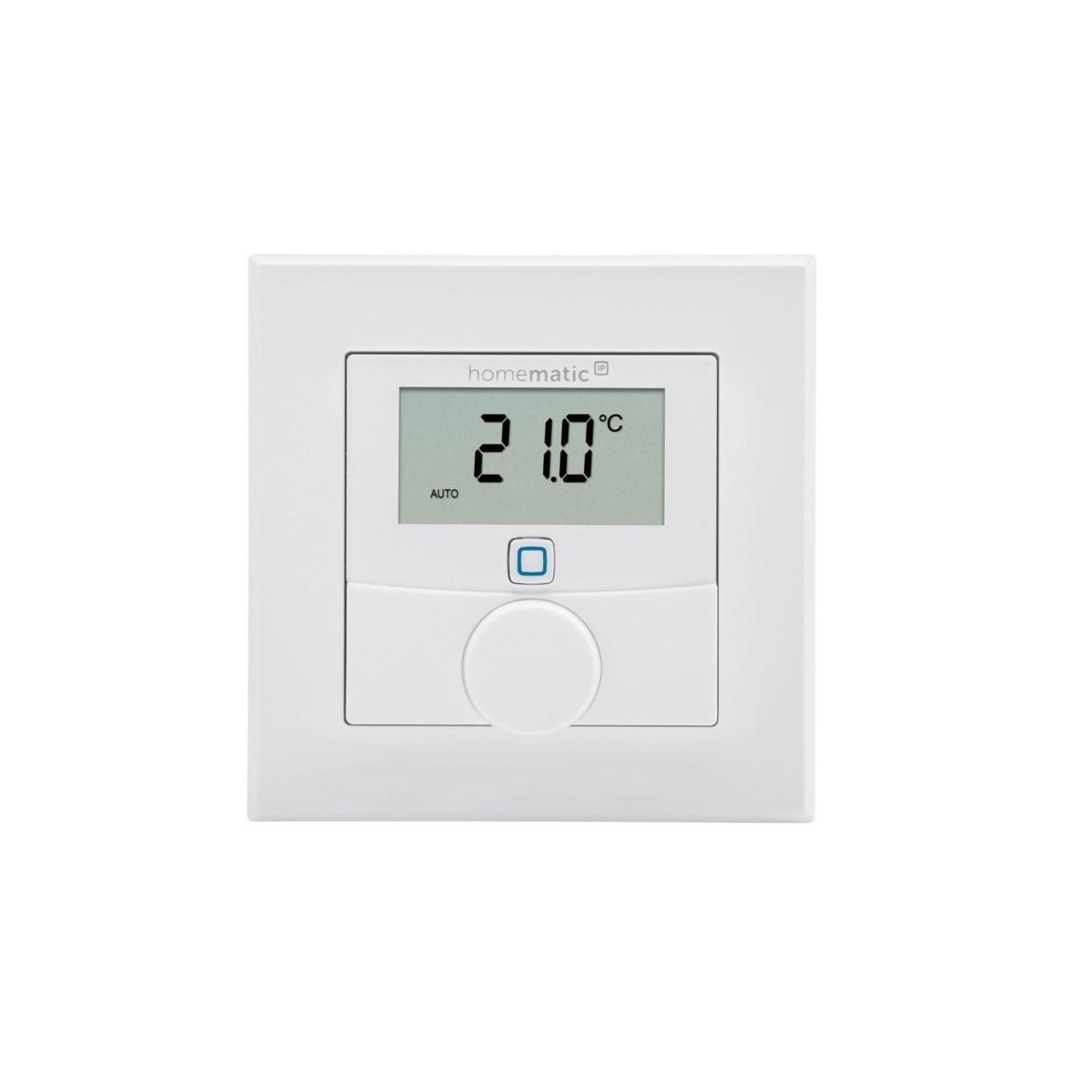 Homematic IP Wandthermostat mit Luftfeuchtigkeitssensor