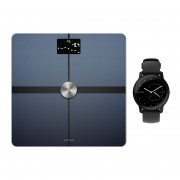 Withings/Nokia Body+ (Schwarz) + Withings Move