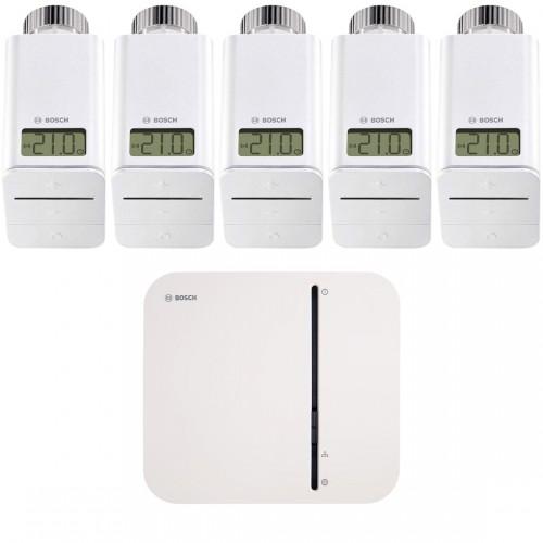 Bosch Smart Home - Starter Set Heizung mit 5 Thermostaten