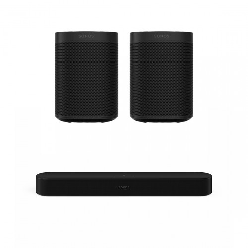 Sonos One Beam Gen 2 5.0 Entertainment Set