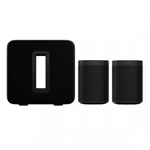 Sonos One Stereo Set + Sonos Sub (3. Gen)