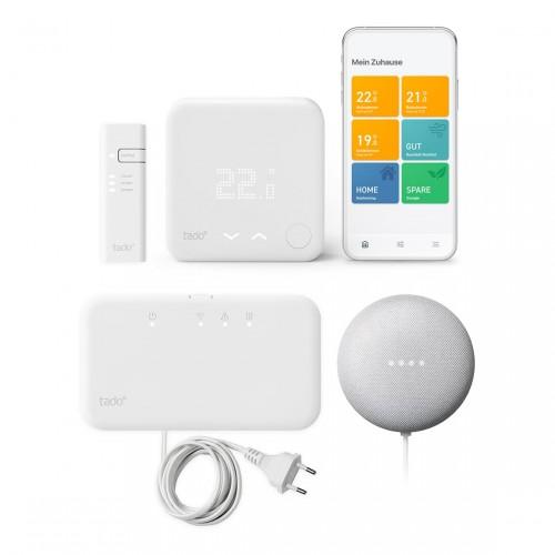 tado° Smart Thermostat (Funk) Starter-Kit V3+ + Google Nest Mini