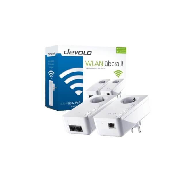 Devolo 550+ WiFi Powerline Starter Kit
