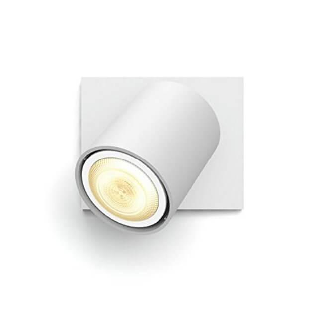 Philips Hue Runner LED 1-er Spot 250lm Erweiterung in weiß in frontaler Ansicht