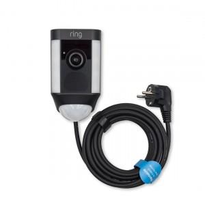 Ring Spotlight Cam Wired - HD-Kamera mit Leuchten und Sirene, verkabelt