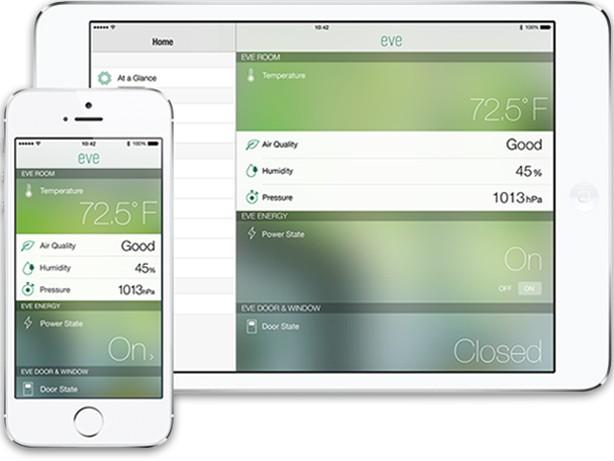 Eve Systems app-gesteuert