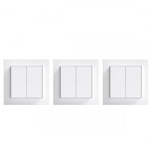 Senic Double Rocker 3er-Pack - Smarte Lichtschalter