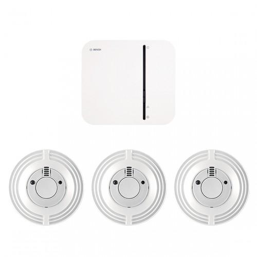 Bosch Smart Home - Wohnungspaket Brandschutz
