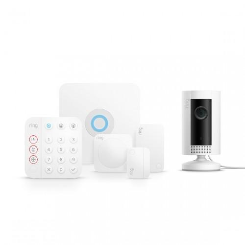 Ring Alarm 2.0 Sicherheitssystem - Komplett-Set + Ring Indoor Cam