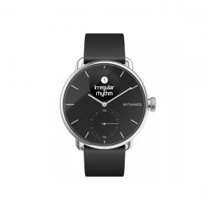 Withings ScanWatch - Hybrid-Smartwatch mit EKG-Funktion & Schlafapnoe-Erkennung frontal