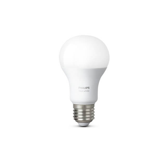 Philips Hue White E27 LED-Lampe in weiß