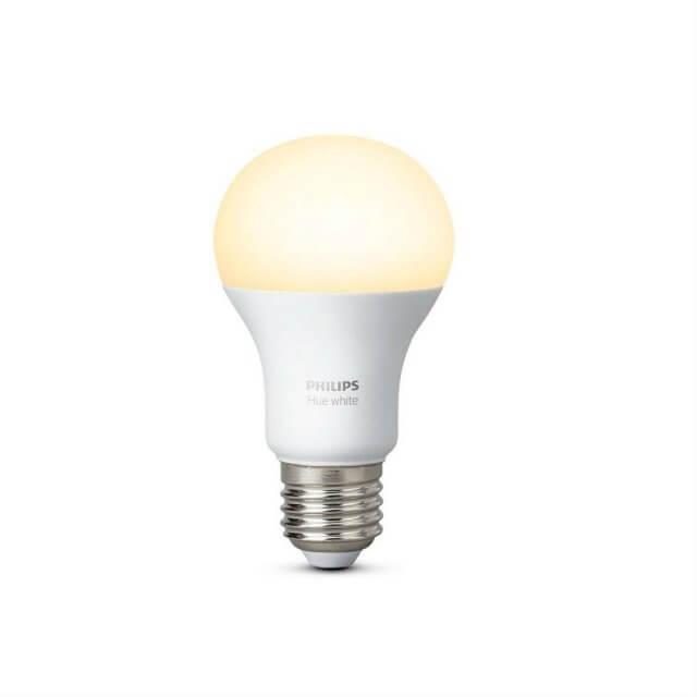 Philips Hue White E27 LED-Lampe in gelb