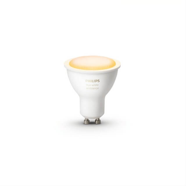 Philips Hue White Ambiance GU10 LED-Lampe in gelb