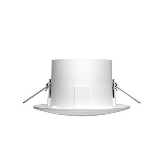 Philips Hue White Ambiance Phoenix Einbauspot in weiß in seitlicher Ansicht