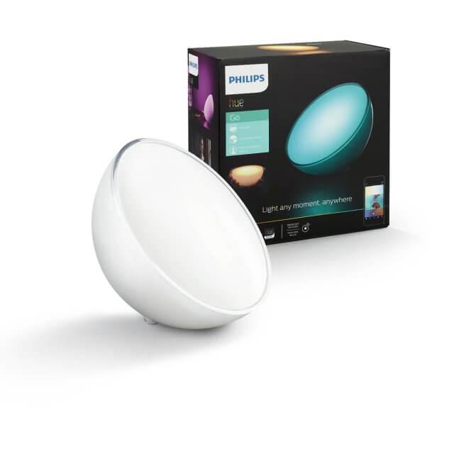Philips Hue Go LED-Tischleuchte mit Verpackung