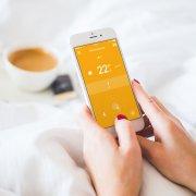 tado° Smartes Thermostat Starter Set Eigenheim App