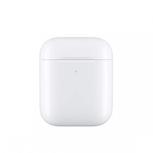 kabelloses ladecase für apple airpods von vorne