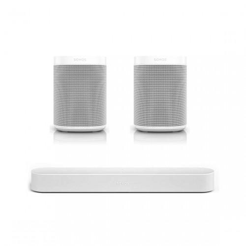 Sonos One Stereo-Set + Sonos Beam
