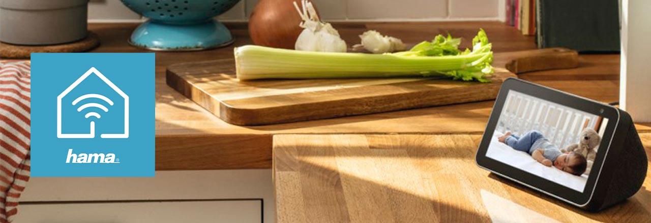 hama smartes diaplay in der küche