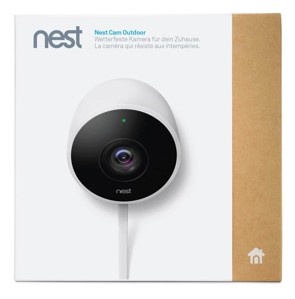 nest cam outdoor berwachungskamera au enkameras video berwachung sicherheit. Black Bedroom Furniture Sets. Home Design Ideas