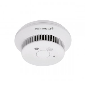 Homematic IP Rauchwarnmelder mit Q-Label front