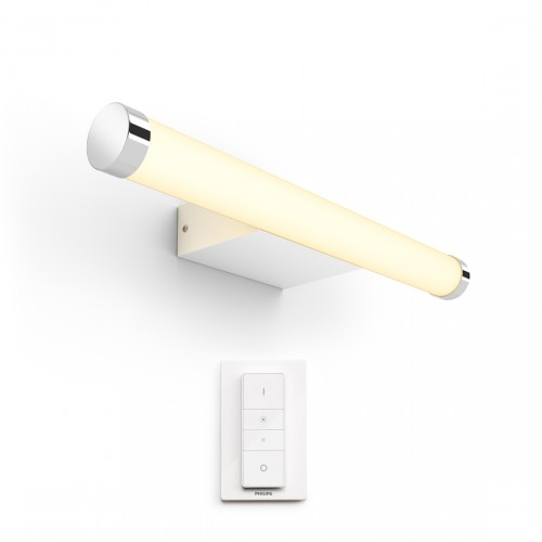 Philips Hue White and Color Ambiance Adore Wandleuchte rund 1050lm + Dimmschalter