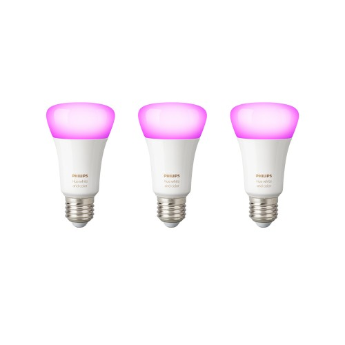 Philips Hue White & Color Ambiance E27 Bluetooth 3er-Pack