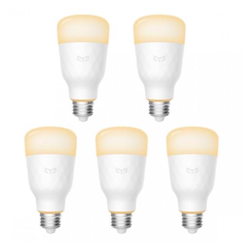 Yeelight Smart LED Lampe 1S 5er-Pack - dimmbar Weiß