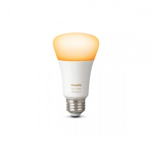Philips Hue White Ambiance E27 Bluetooth licht an frontale Ansicht