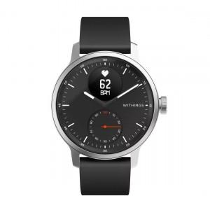 Withings ScanWatch 42mm - Hybrid-Smartwatch mit EKG-Funktion & Schlafapnoe-Erkennung