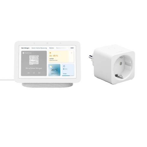 Google Nest Hub (2. Generation) + Philips Hue Smart Plug