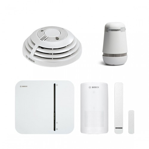 Bosch Smart Home - Starter Set Sicherheit + spexor
