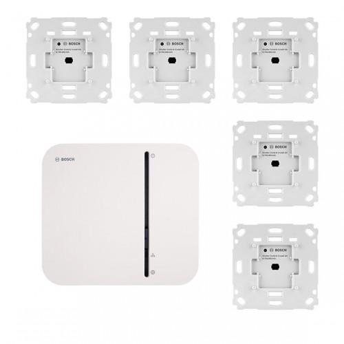 Bosch Smart Home Controller + Rollladensteuerung Unterputz 5er-Set
