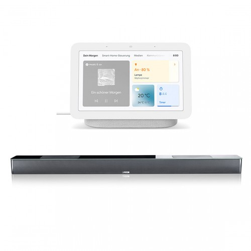 Canton Smart Soundbar 10 + gratis Google Nest Hub (2. Generation)