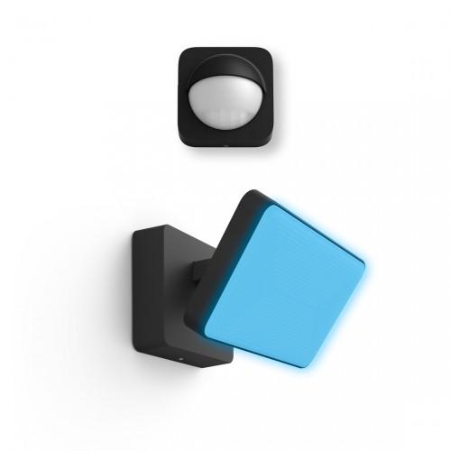 Philips Hue LED Flutlicht Discover + Philips Hue Outdoor Sensor