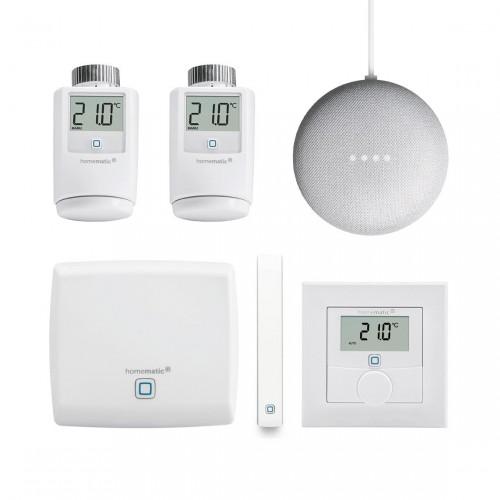 Homematic IP Starter Set - Smartes Heizen + Google Nest Mini