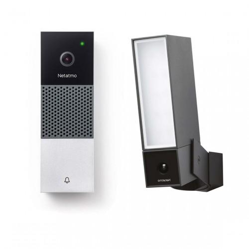 Netatmo Smarte Video-Türklingel + Smarte Außenkamera