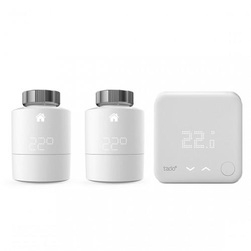 tado° Erweiterungspack mit 2er-Pack Heizkörper-Thermostat und 1 Funk-Temperatursensor