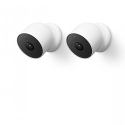 Google Nest Cam (mit Akku) 2-Pack
