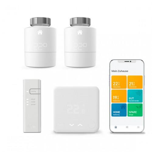 tado° Smartes Thermostat Starter Kit V3+ + 2 Heizkörperthermostate