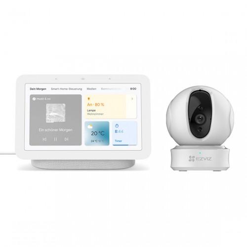 Google Nest Hub (2. Generation) + EZVIZ C6CN Innenkamera