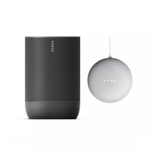 Sonos Move + Google Nest Mini
