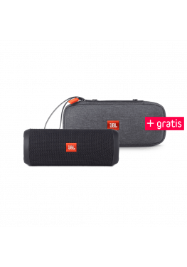 JBL Flip 3 Spritzwasserfester Bluetooth-Lautsprecher + Gratis Tasche
