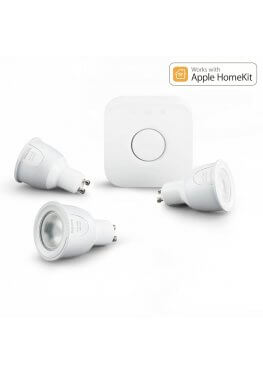 Philips Hue White and Color GU10 Starter Set