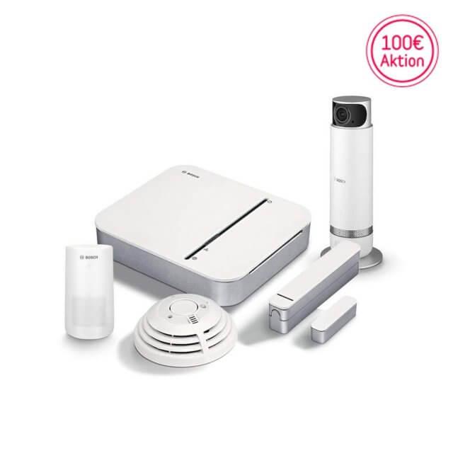 Bosch Smart Home - Starter Set Sicherheit + 360° Innenkamera