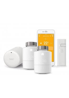 Tado Heizkörperthermostat Starter Kit mit 3 Thermostaten + Bridge