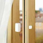 Eve Door & Window Sensor von innen am fenster