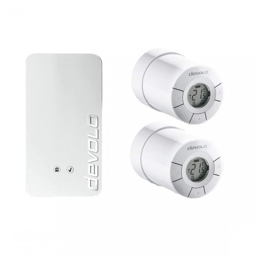 devolo Home Control Smartes Heizkörperpaket mit 2 Thermostaten